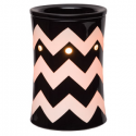 Chevron Black Scentsy Warmer
