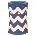 Chevron Blue Scentsy Warmer