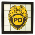 Police Scentsy Gallery Frame