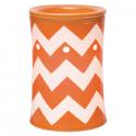 Chevron Orange Scentsy Warmer