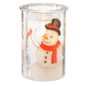 Frosted Snowman Warmer