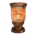 Amber Fluted Lampshade Scentsy Warmer