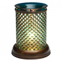 Blue Diamond Lampshade Scentsy Warmer