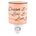 Dream It, Live It, Love It Mini Warmer