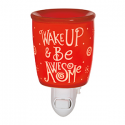 Wake Up and Be Awesome Scentsy Nightlight Warmer