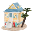 Beach Bungalow Warmer