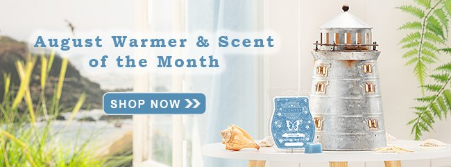 August 2019 Scentsy Warmer of the Month
