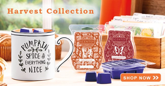 Scentsy Harvest Collection 2019