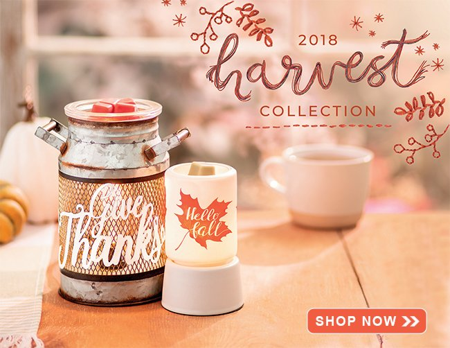 Scentsy 2018 Harvest Collection