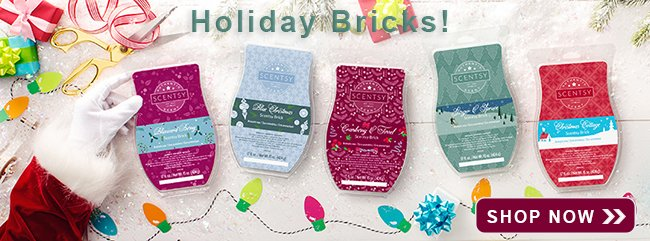 Holiday Scentsy Bricks 2018