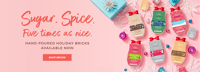 Scentsy Holiday Bricks 2017