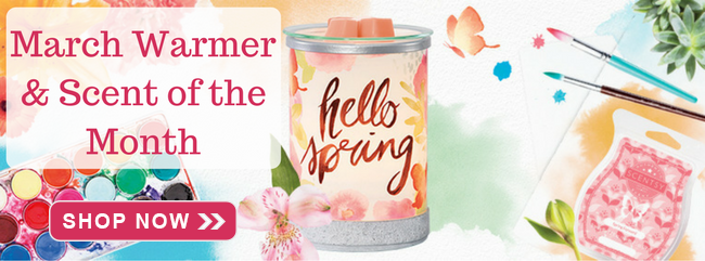 March Warmer & Scent of the Month