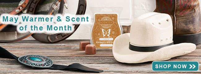 May 2019 Scentsy Warmer and Scent of the Month