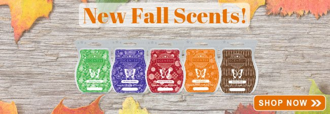 New Scentsy Scents Fall 2018