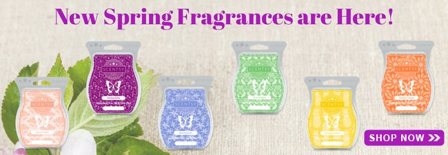 New Spring Scentsy Scents