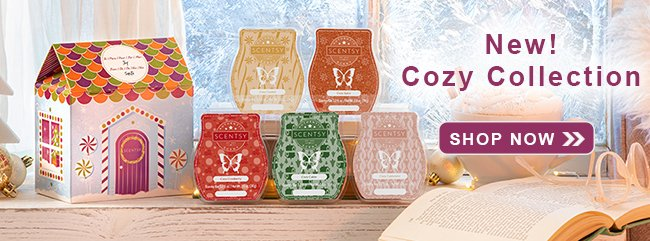 Scentsy Cozy Wax Collection