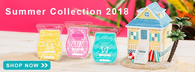 Scentsy Summer Collection 2018