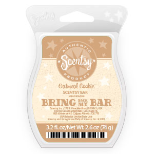 Oatmeal Cookie Scentsy Bar