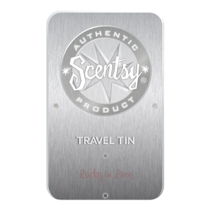 Lucky in Love Scentsy Travel Tin