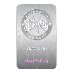Happy Go Lucky Scentsy Travel Tin