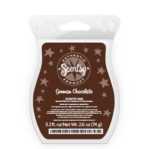 German Chocolate Scentsy Bar