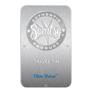Clean Breeze Scentsy Travel Tin