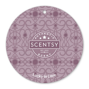Lucky in Love Scentsy Scent Circle
