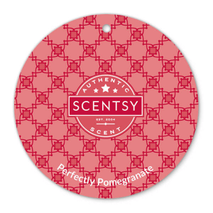Perfectly Pomegranate Scentsy Scent Circle
