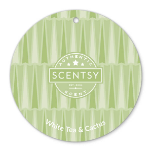 White Tea and Cactus Scentsy Scent Circle