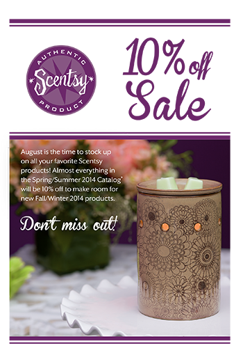 Scentsy-10-Off-Sale-August-2014