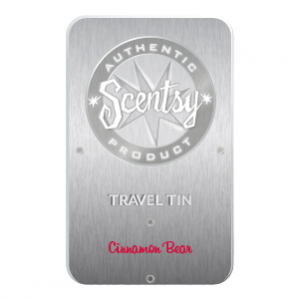 Cinnamon Bear Scentsy Travel Tin