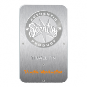 Pumpkin Marshmallow Scentsy Travel Tin