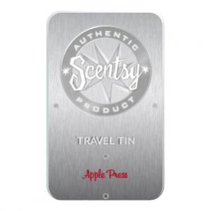 Apple Press Scentsy Travel Tin