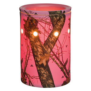 Scentsy Pink Camo Warmer