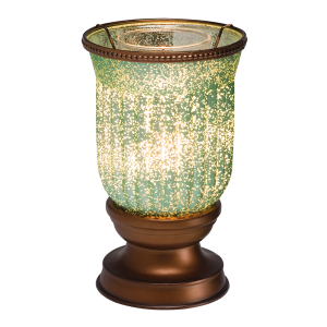 Seafoam Fluted Lampshade Scentsy Warmer