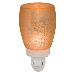 Cream Glass Scentsy Plug In Warmer