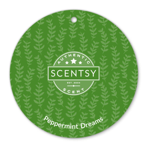 Peppermint Dreams Scentsy Scent Circle