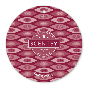 Snowberry Scentsy Scent Circle