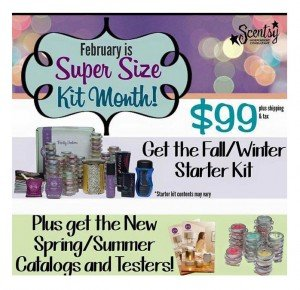 Scentsy Enhanced Starter Kit February 2015