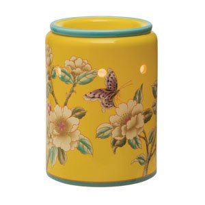 Madame Butterfly Yellow Scentsy Warmer