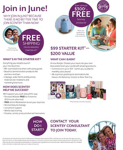 Join Scentsy in June 2015