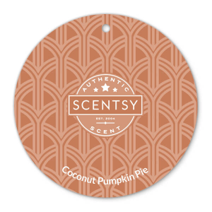 Coconut Pumpkin Pie Scentsy Scent Circle