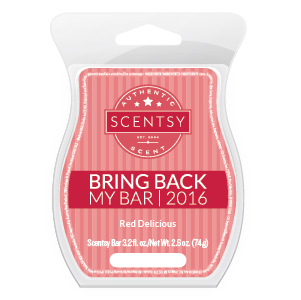 Red Delicious Scentsy Bar
