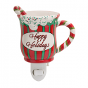 Happy Holidays Nightlight Scentsy Warmer