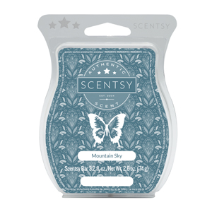 Mountain Sky Scentsy Bar