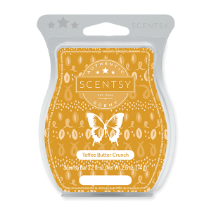 Toffee Butter Crunch Scentsy Bar