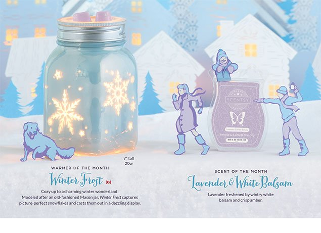 November 2016 Scentsy Warmer of the Month