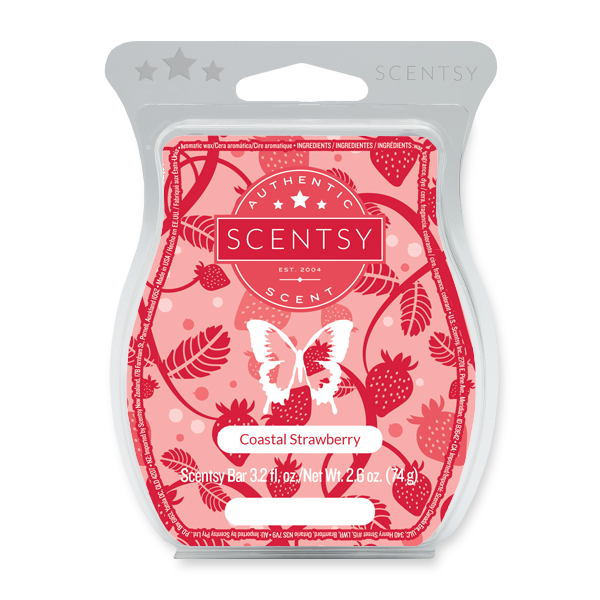 Coastal Strawberry Scentsy