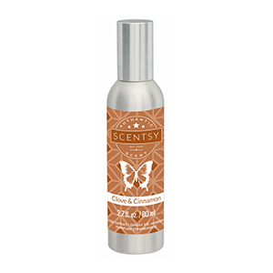 Clove and Cinnamon Scentsy Room Spray