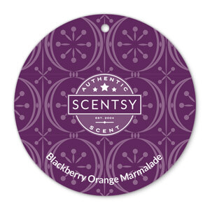 Blackberry Orange Marmalade Scentsy Scent Circle